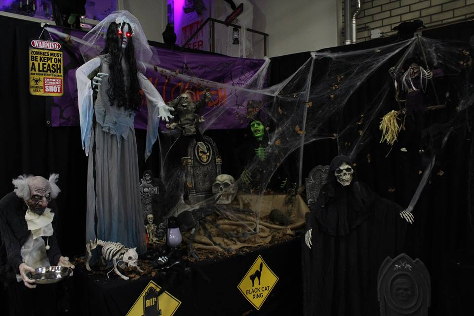 Halloween Showroom Overzicht 2016 1/4