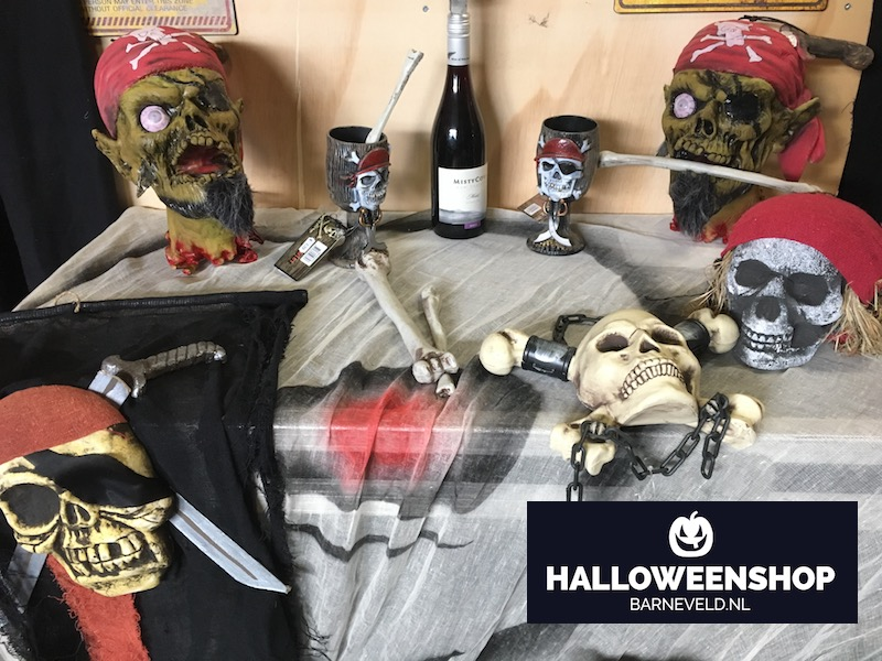 Halloween Piraten box - Showroom 2017